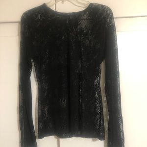 (Guess) -lace top